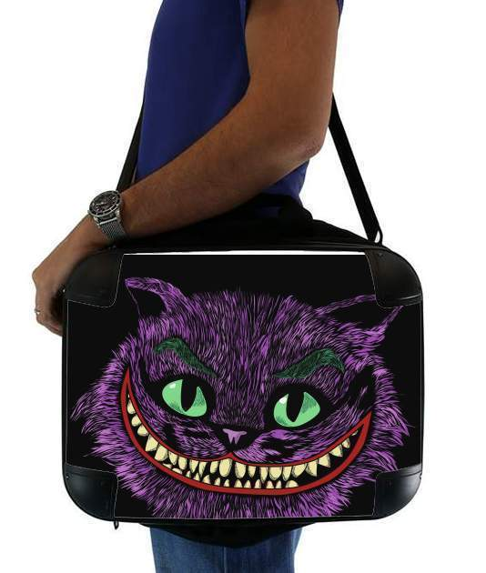 "Cheshire Joker for Laptop briefcase 15"" / Notebook / Tablet"