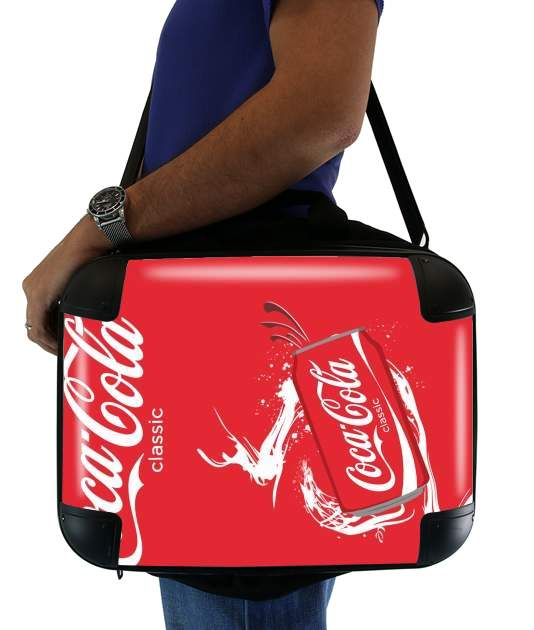 "Coca Cola Rouge Classic for Laptop briefcase 15"" / Notebook / Tablet"