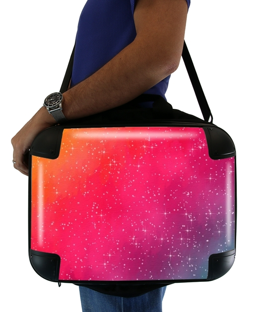 "Colorful Galaxy for Laptop briefcase 15"" / Notebook / Tablet"
