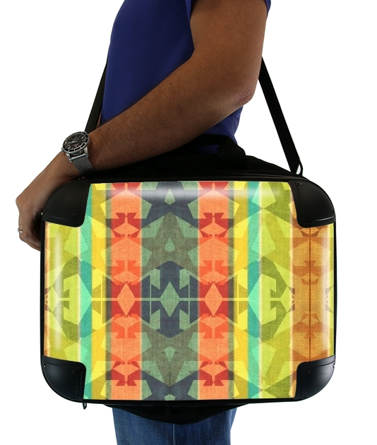 "colourful design for Laptop briefcase 15"" / Notebook / Tablet"