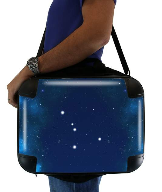 "Constellations of the Zodiac: Cancer for Laptop briefcase 15"" / Notebook / Tablet"