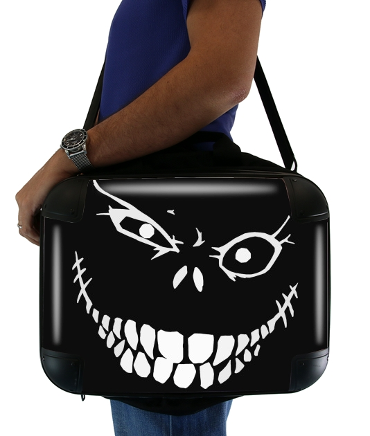 "Crazy Monster Grin for Laptop briefcase 15"" / Notebook / Tablet"