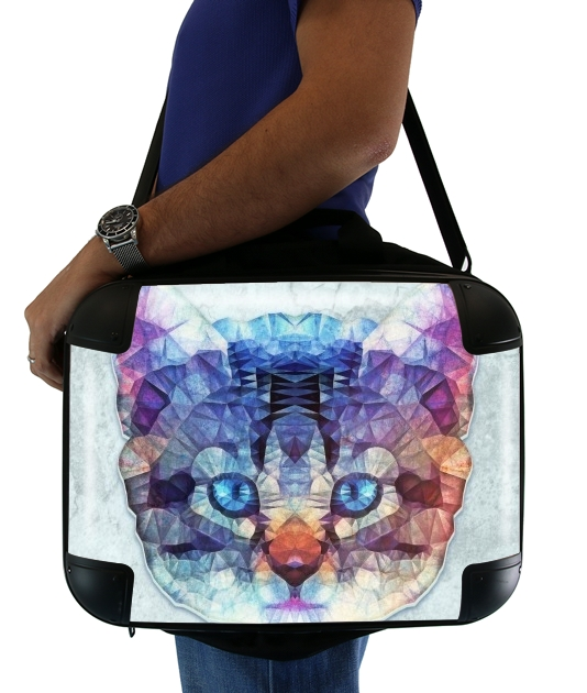 "cute kitten for Laptop briefcase 15"" / Notebook / Tablet"