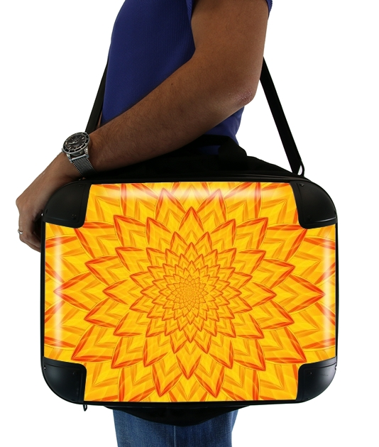 "Dahlia Burning for Laptop briefcase 15"" / Notebook / Tablet"