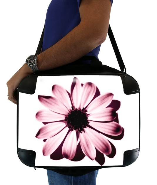 "Daisy Burgundy for Laptop briefcase 15"" / Notebook / Tablet"