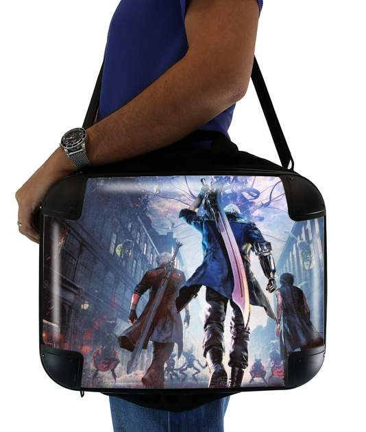 "Devil may cry for Laptop briefcase 15"" / Notebook / Tablet"