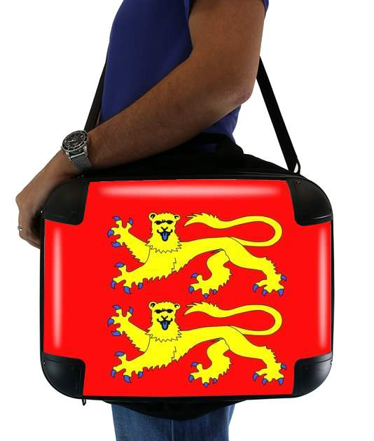 "Drapeau Normand for Laptop briefcase 15"" / Notebook / Tablet"