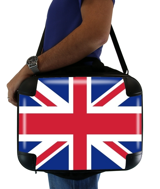 "Flag Union Jack for Laptop briefcase 15"" / Notebook / Tablet"