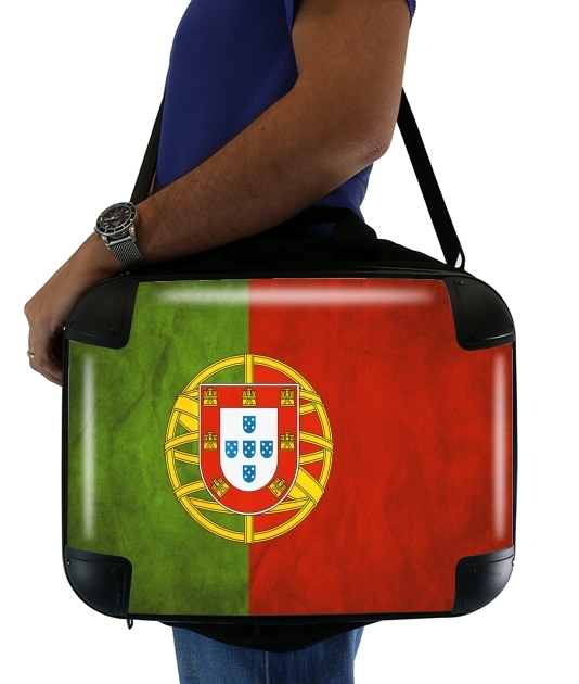 "Vintage Flag Portugal for Laptop briefcase 15"" / Notebook / Tablet"