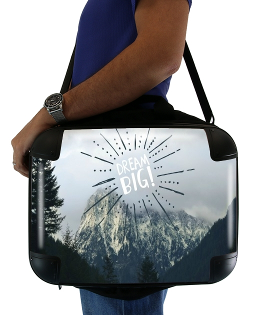 "Dream Big for Laptop briefcase 15"" / Notebook / Tablet"