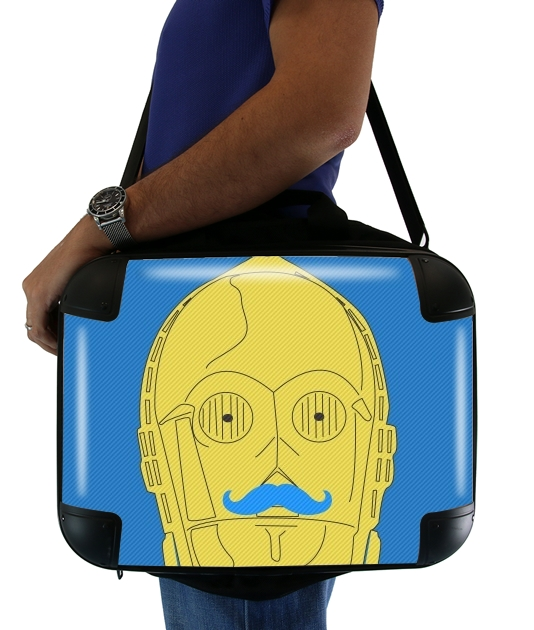 "Droid Stache for Laptop briefcase 15"" / Notebook / Tablet"