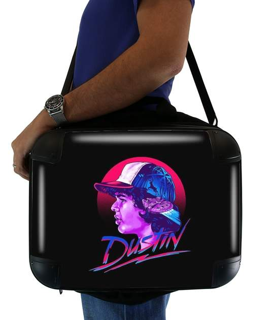 "Dustin Stranger Things Pop Art for Laptop briefcase 15"" / Notebook / Tablet"