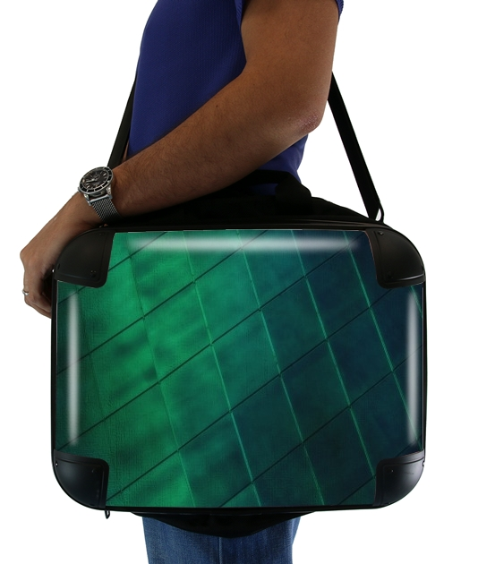 "Earth Meets Sky for Laptop briefcase 15"" / Notebook / Tablet"