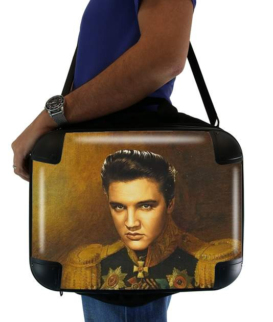 "Elvis Presley General Of Rockn Roll for Laptop briefcase 15"" / Notebook / Tablet"