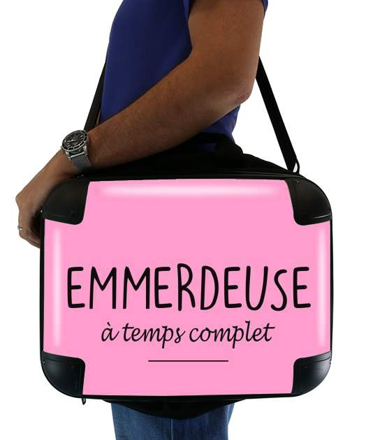 "Emmerdeuse a temps complet for Laptop briefcase 15"" / Notebook / Tablet"