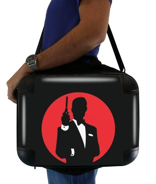 "English Secret Agent for Laptop briefcase 15"" / Notebook / Tablet"