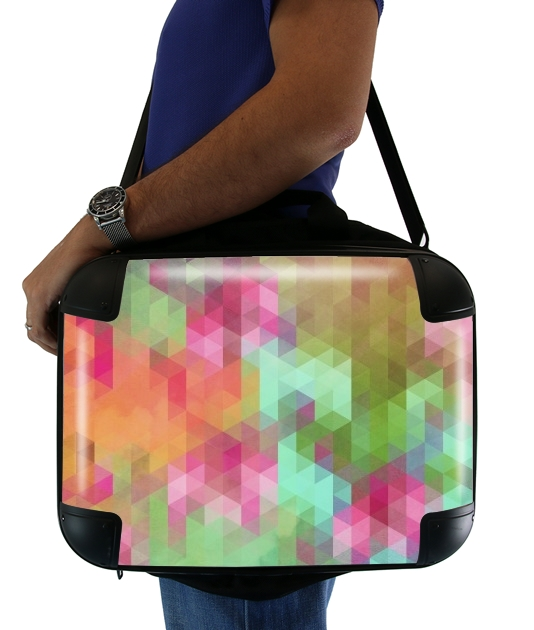 "Exotic Triangles for Laptop briefcase 15"" / Notebook / Tablet"