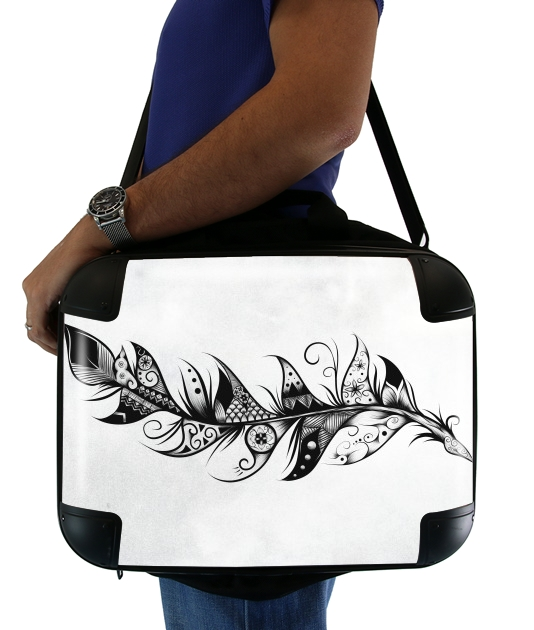 "Feather for Laptop briefcase 15"" / Notebook / Tablet"