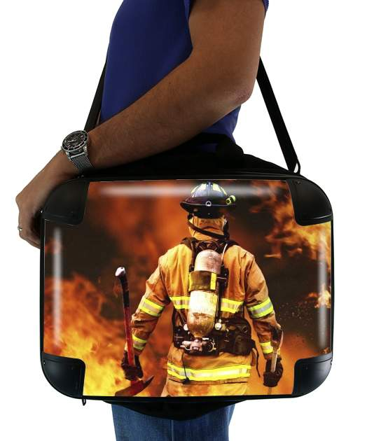 "Firefighter for Laptop briefcase 15"" / Notebook / Tablet"