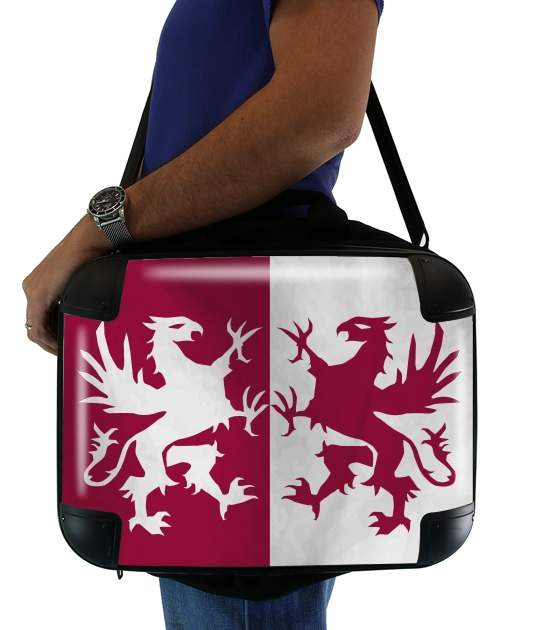 "Flag House Connington for Laptop briefcase 15"" / Notebook / Tablet"