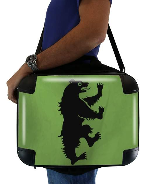 "Flag House Mormont for Laptop briefcase 15"" / Notebook / Tablet"