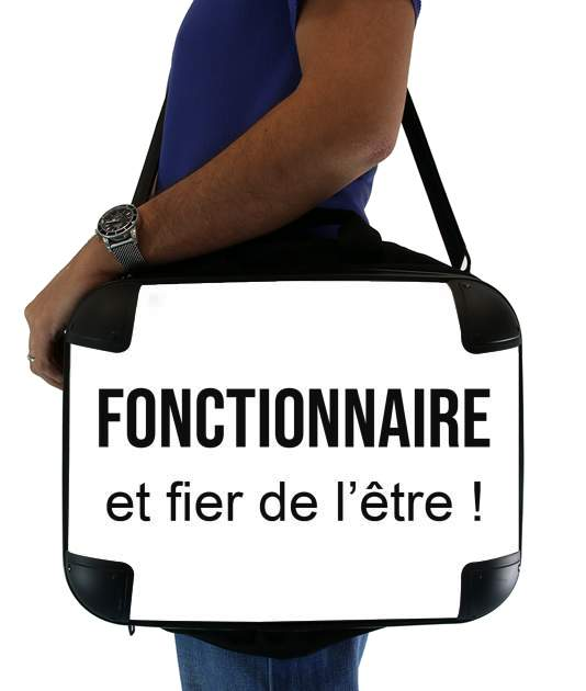 "Fonctionnaire et fier de letre for Laptop briefcase 15"" / Notebook / Tablet"