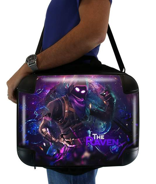 "Fortnite The Raven for Laptop briefcase 15"" / Notebook / Tablet"