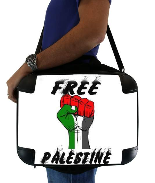 "Free Palestine for Laptop briefcase 15"" / Notebook / Tablet"