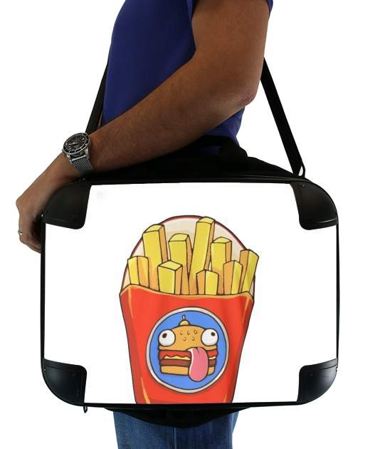"French Fries by Fortnite for Laptop briefcase 15"" / Notebook / Tablet"