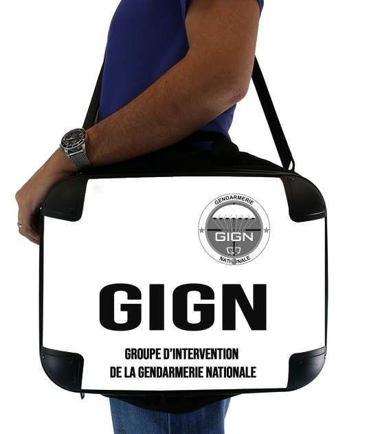 "GIGN groupe dIntervention de la gendarmerie Classic for Laptop briefcase 15"" / Notebook / Tablet"