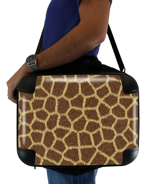 "Giraffe Fur for Laptop briefcase 15"" / Notebook / Tablet"