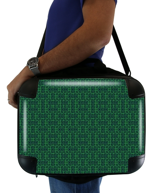 "GREEN MAYHEM for Laptop briefcase 15"" / Notebook / Tablet"