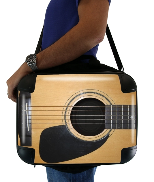 "Guitar for Laptop briefcase 15"" / Notebook / Tablet"
