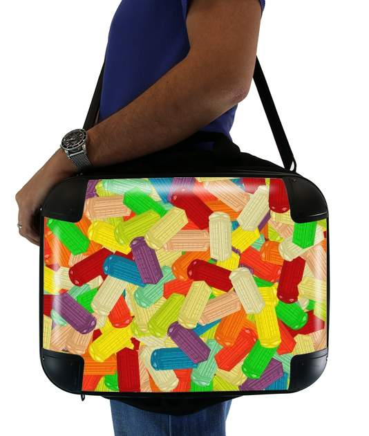 "Gummy London Phone  for Laptop briefcase 15"" / Notebook / Tablet"