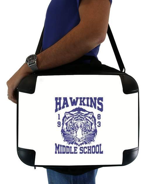 "Hawkins Middle School University for Laptop briefcase 15"" / Notebook / Tablet"