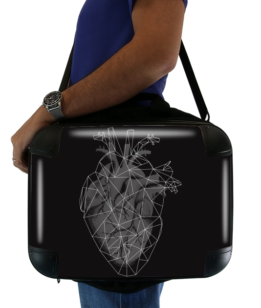"heart II for Laptop briefcase 15"" / Notebook / Tablet"