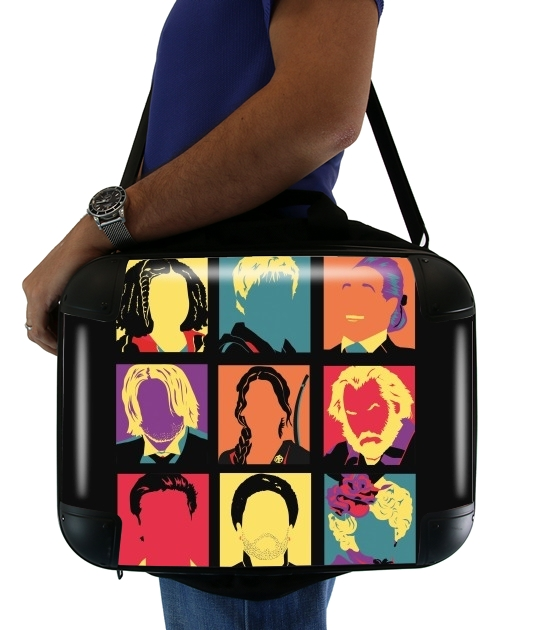 "hunger pop for Laptop briefcase 15"" / Notebook / Tablet"