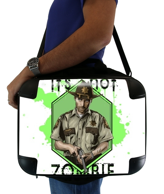 "It's not zombie for Laptop briefcase 15"" / Notebook / Tablet"
