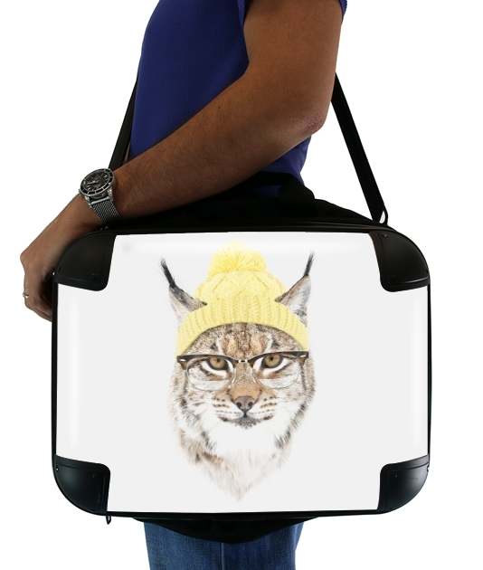 "It's pretty cold outside  for Laptop briefcase 15"" / Notebook / Tablet"