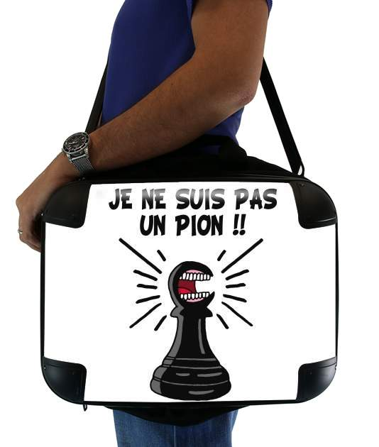 "Je ne suis pas un pion for Laptop briefcase 15"" / Notebook / Tablet"