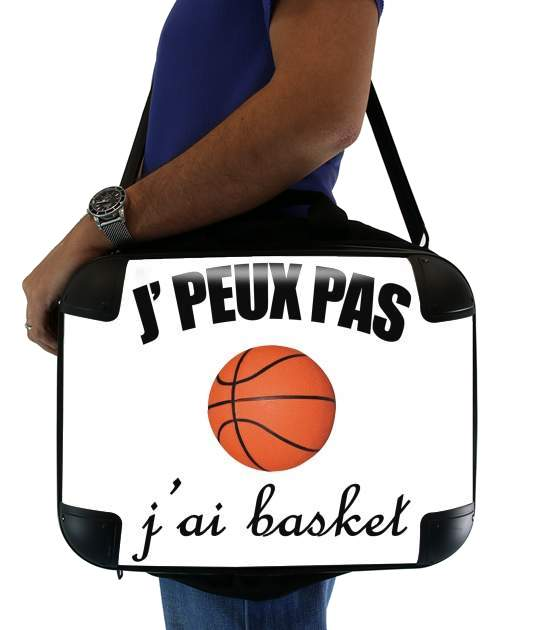 "Je peux pas j ai basket for Laptop briefcase 15"" / Notebook / Tablet"