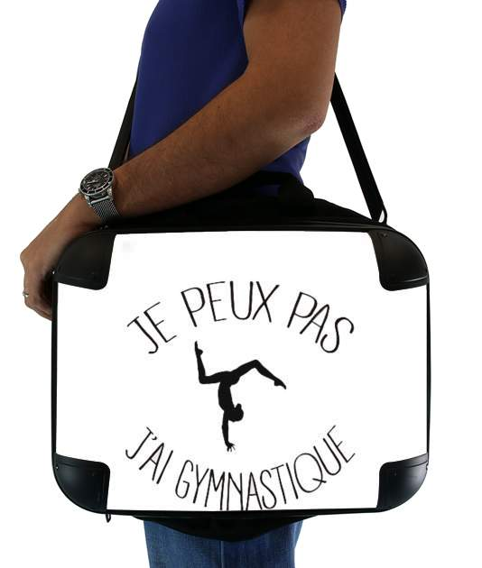 "Je peux pas j ai gymnastique for Laptop briefcase 15"" / Notebook / Tablet"