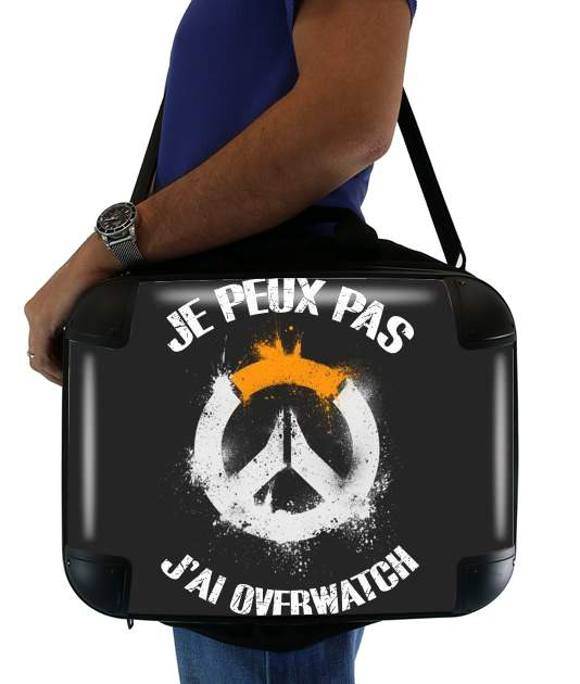 "I can't I have OverWatch for Laptop briefcase 15"" / Notebook / Tablet"
