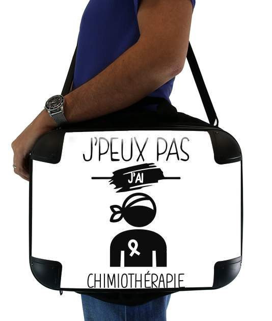 "Je peux pas jai chimiotherapie for Laptop briefcase 15"" / Notebook / Tablet"