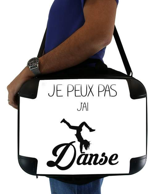 "Je peux pas jai danse for Laptop briefcase 15"" / Notebook / Tablet"
