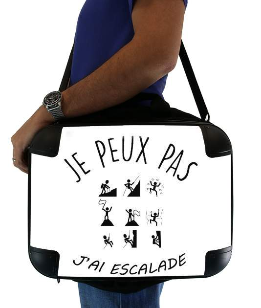 "Je peux pas jai escalade for Laptop briefcase 15"" / Notebook / Tablet"
