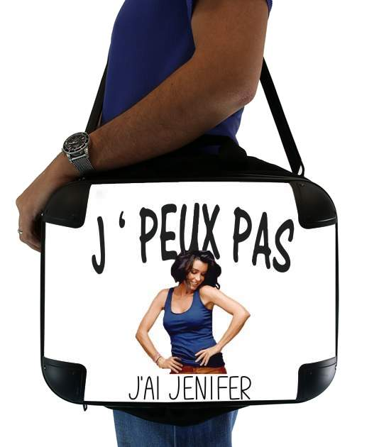 "Je peux pas jai Jenifer for Laptop briefcase 15"" / Notebook / Tablet"