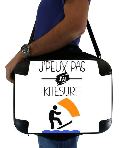 "Je peux pas jai kitesurf for Laptop briefcase 15"" / Notebook / Tablet"