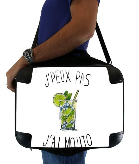 "Je peux pas jai mojito for Laptop briefcase 15"" / Notebook / Tablet"