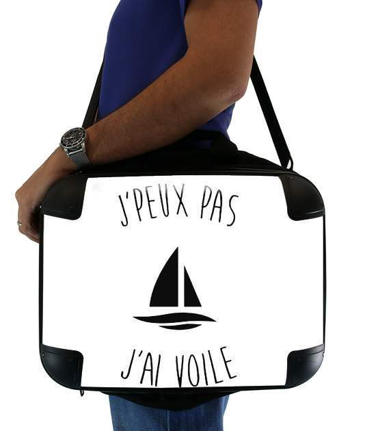 "Je peux pas jai voile for Laptop briefcase 15"" / Notebook / Tablet"